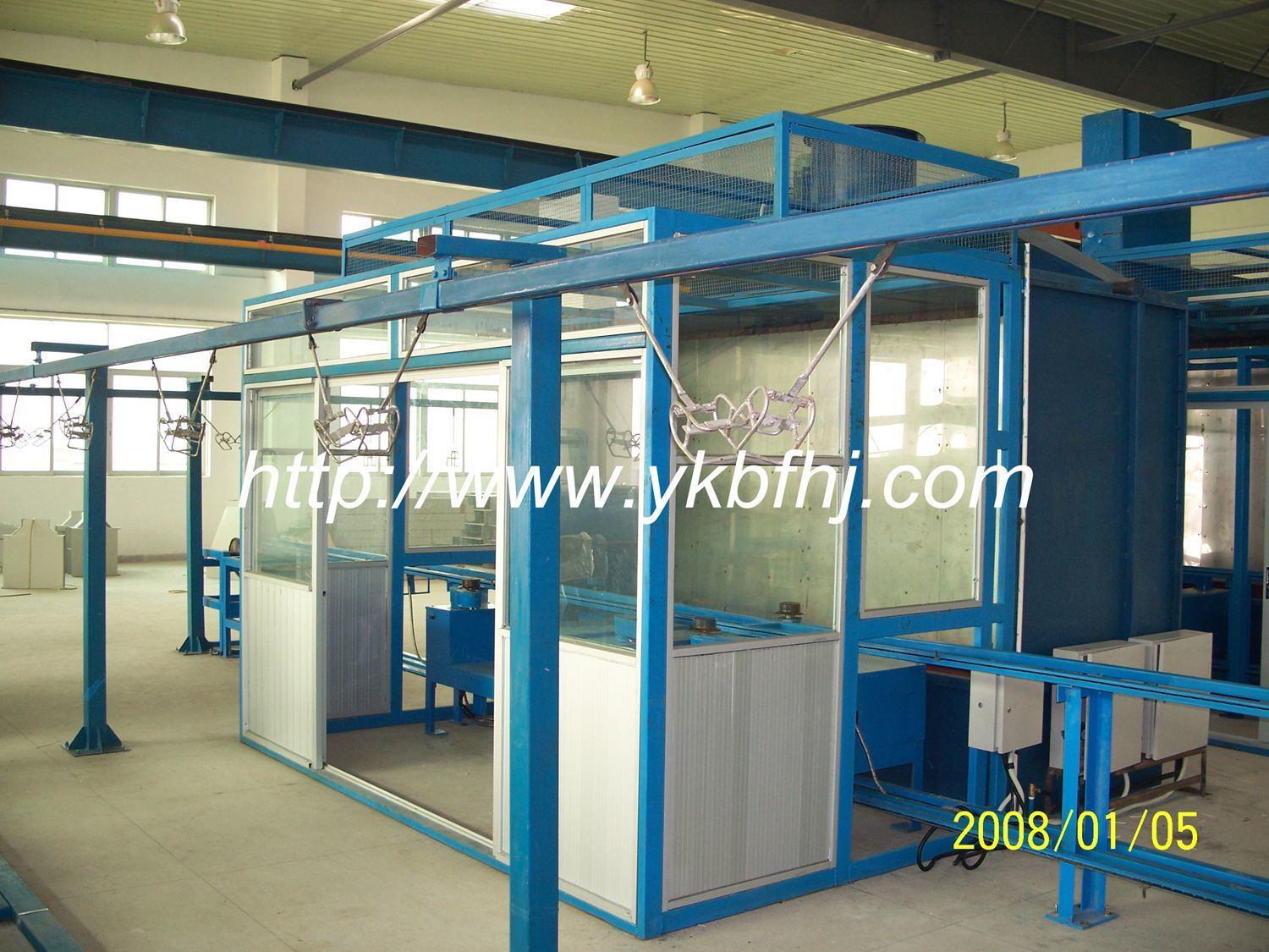 Automatic Painting Booth for Drum Making Machine 210lt.