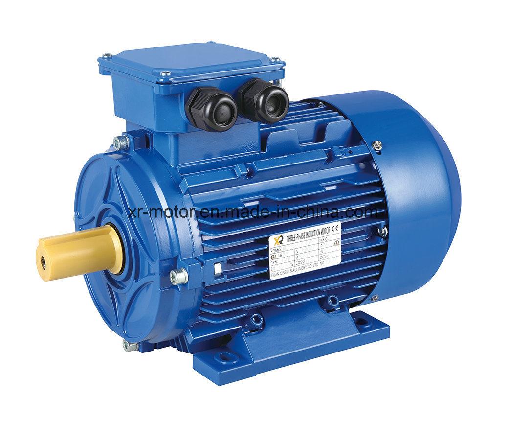 China Single-Phase Capacitor Start & Run Electric Motor (Cast Iron ...