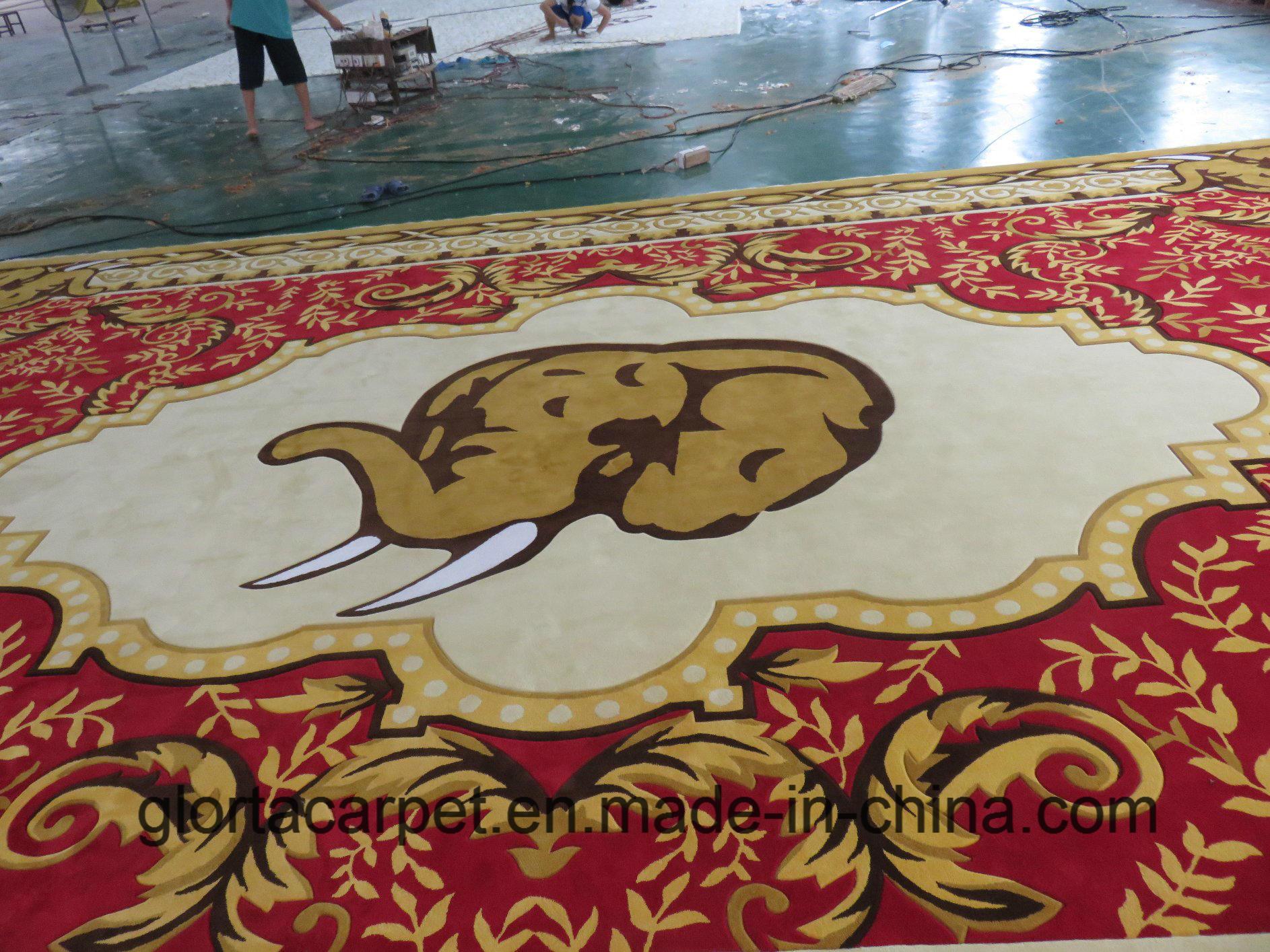 China Hand Tufted Carpet manufacturer Area Carpet Hotel Carpet