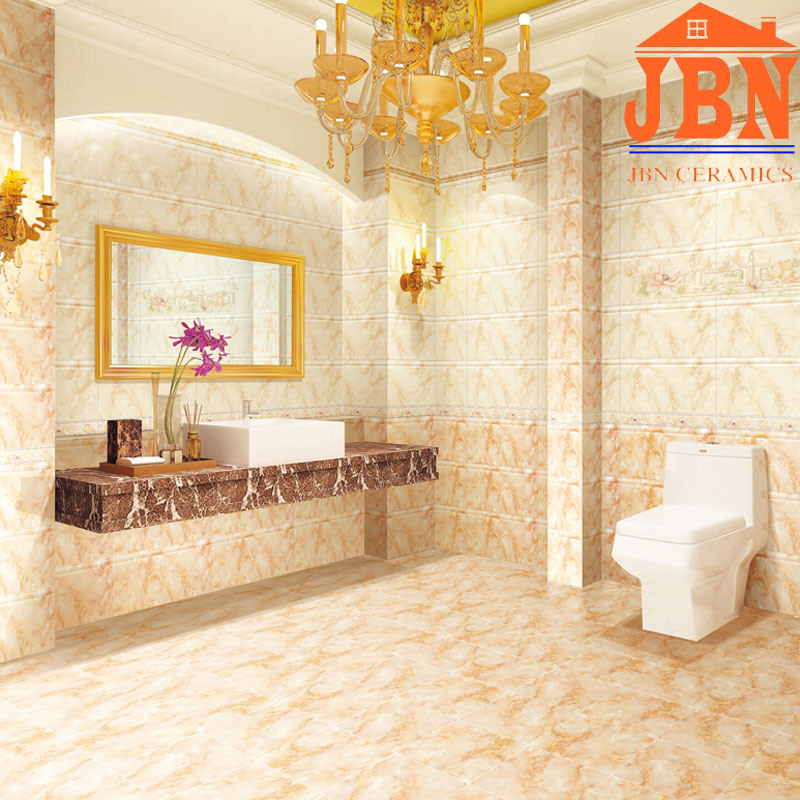 China 300x600mm New Design Glazed Ceramic Bathroom Wall Tile