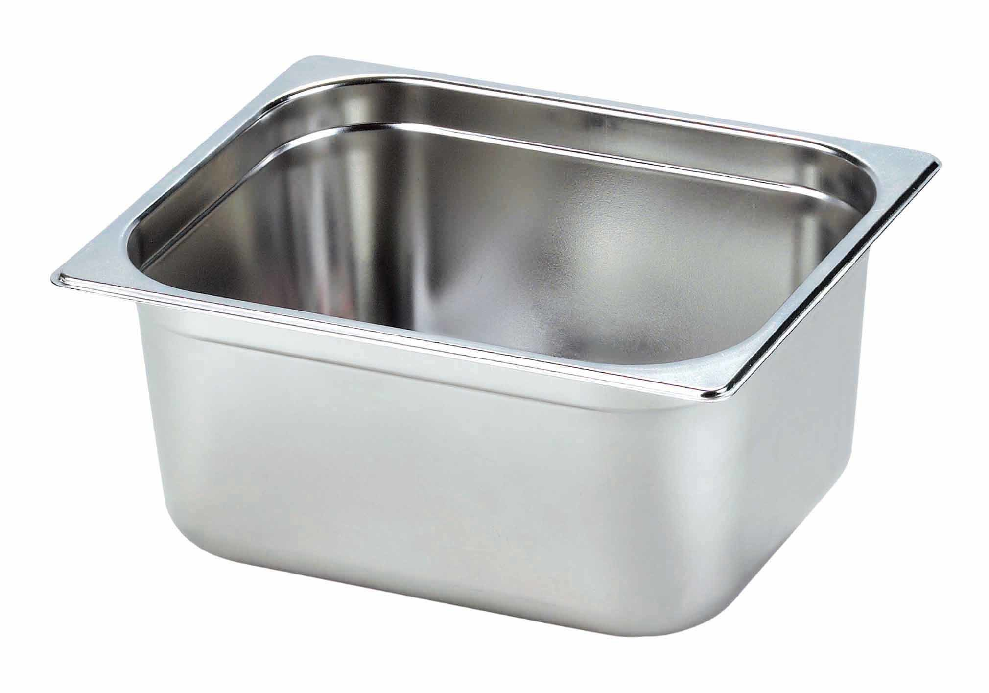 Stainless Steel Gastronorm Pan 1/2, 150 (YG12-6CT)