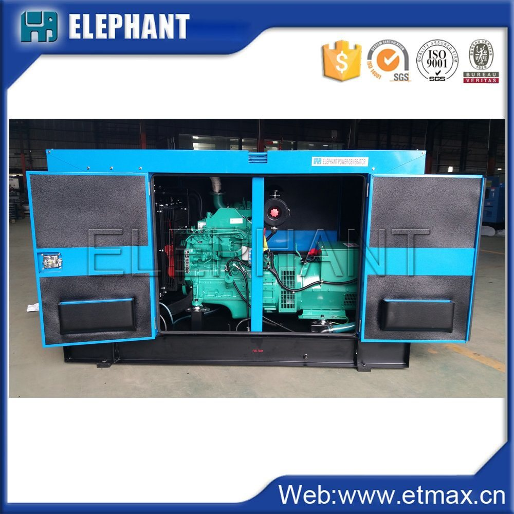China High Quality 30kVA 24kw Cummins Diesel Generator Set
