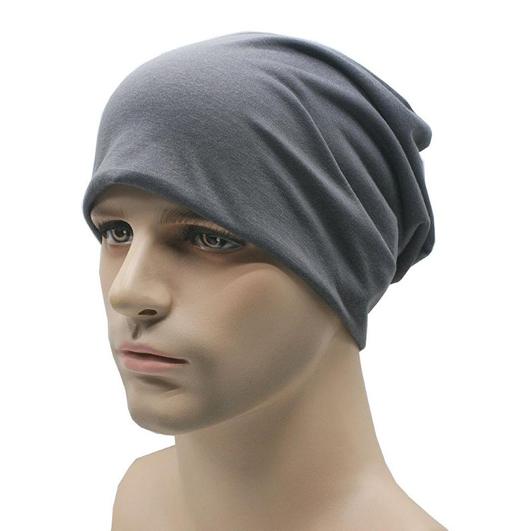 6024447bda2 China Lightweight Turban Slouchy Beanie Hat Cap Cotton Jersey Hip ...