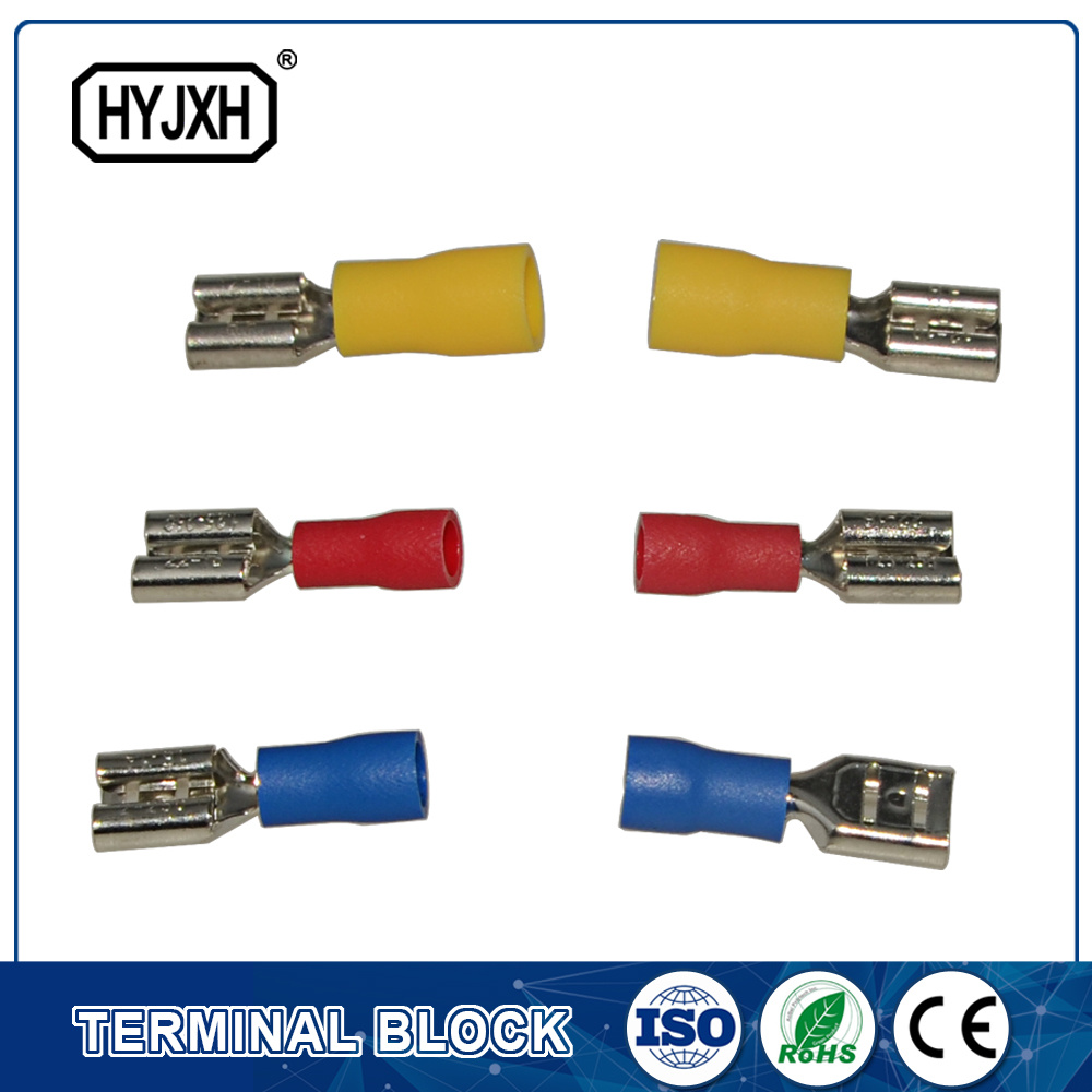 China FDD Series Solderless Electrical Brass Wire Terminal - China ...