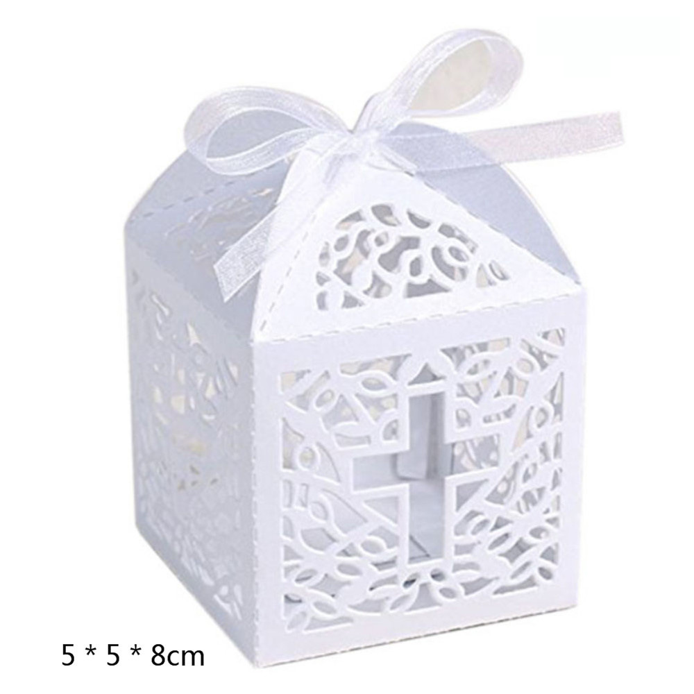 China Wedding Candy Box Sweets Gift Favor Boxes with Ribbon Party ...