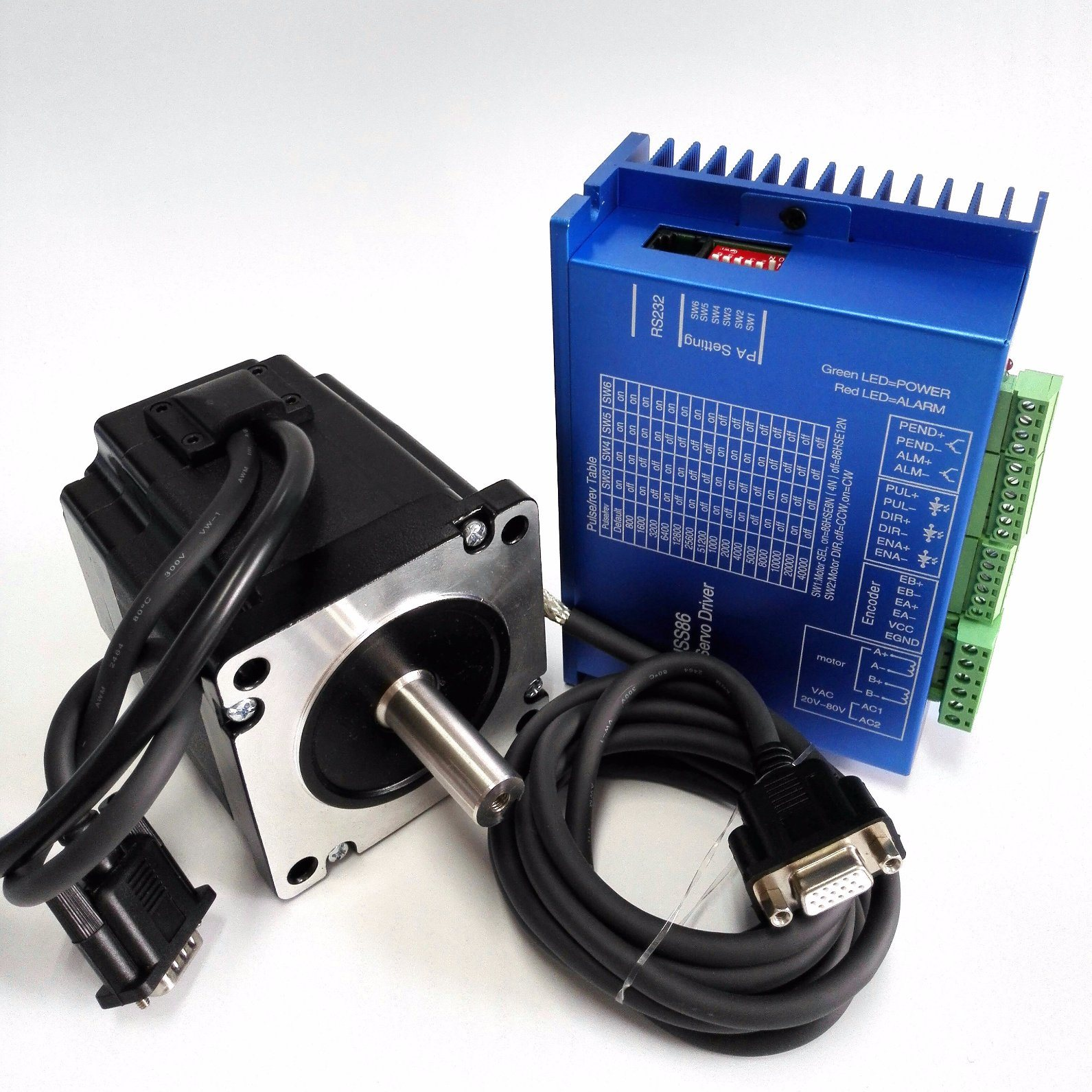 High Precision and Efficiency Closed Stepper Motor 2 Phase NEMA 34 pictures & photos