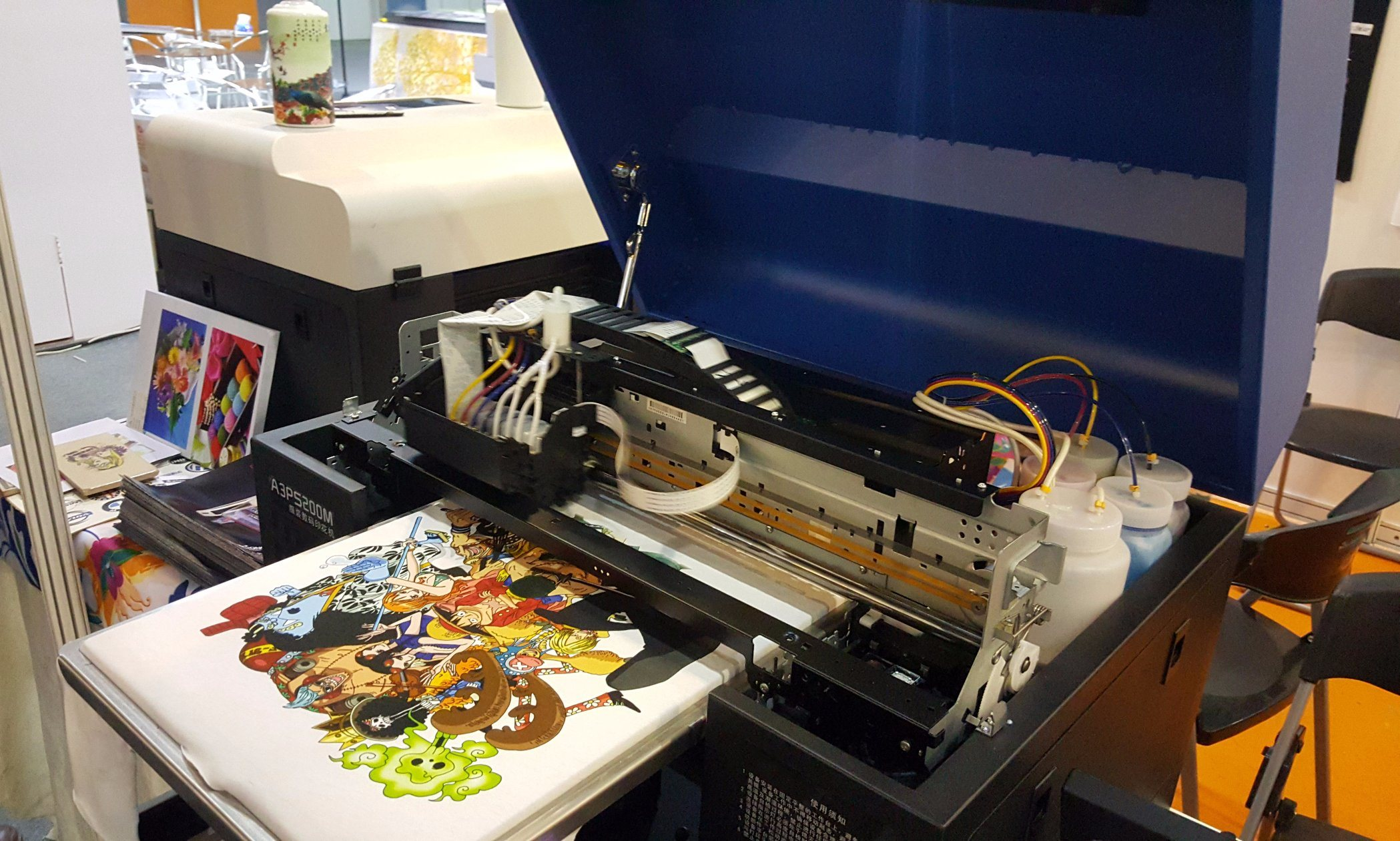 A3 DTG DIY Flatbed Printer for T-Shirt