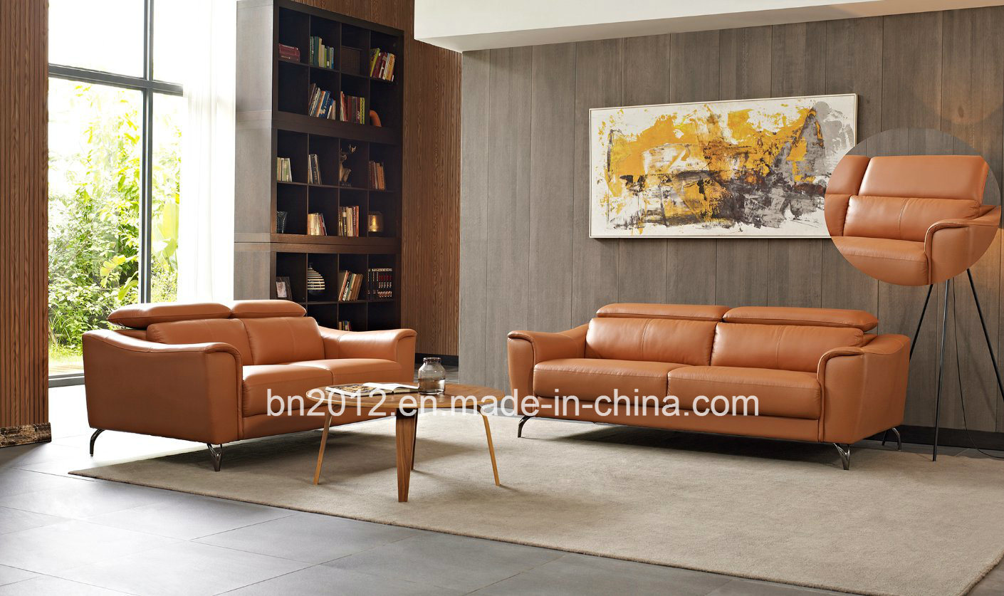[Hot Item] Italian Genuine Leather Modern Sofa Furniture
