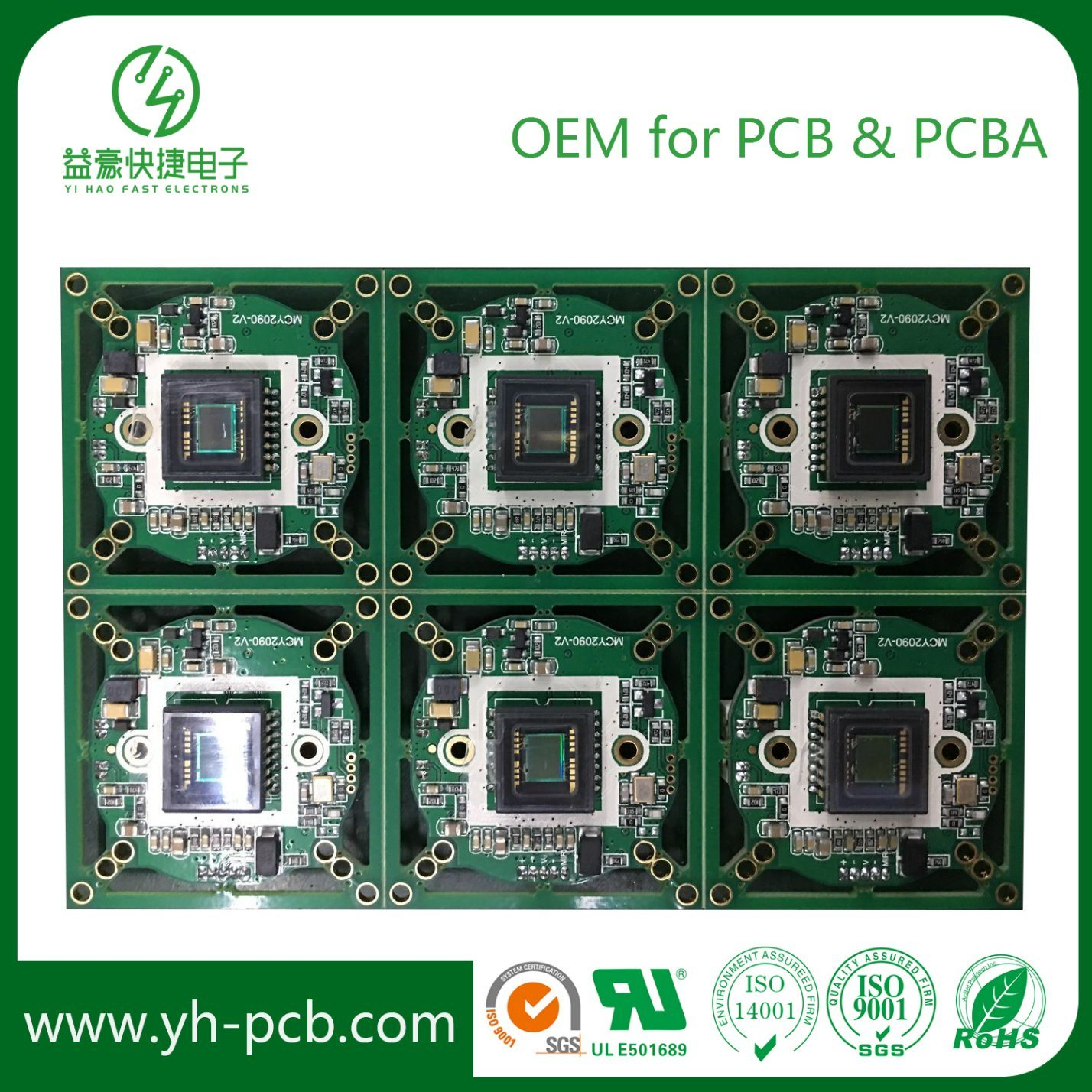 Multilayer Pcb Layers Printed Circuit Board China Double Copper Assembly With Rohs Manufactur 1428x1428