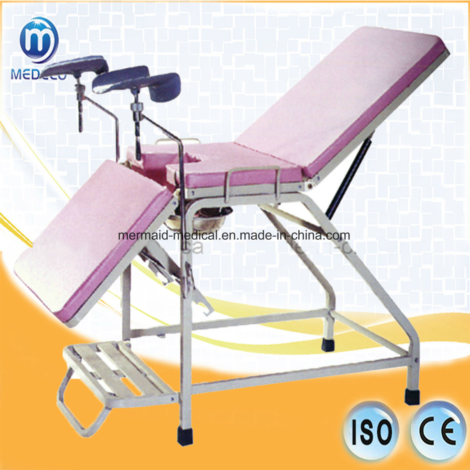 Medical Equipment Gynecology Inspection Bed, Obstetricbed pictures & photos