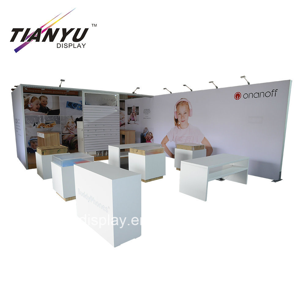 Exhibition Stall Size : China durable aluminum expo stand trade show exhibition stall free