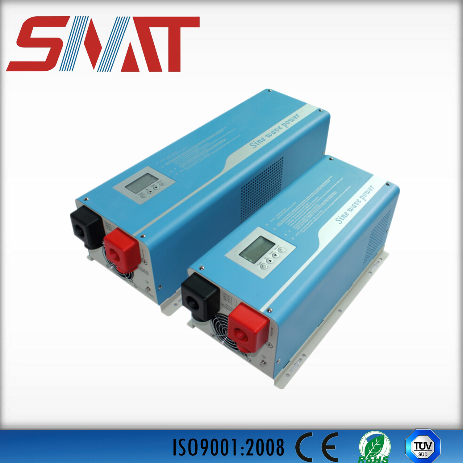 China Foshan Snadi 5000w Dc To Ac Solar Power Supply Pure Sine Wave Inverter On With Digital Lcd