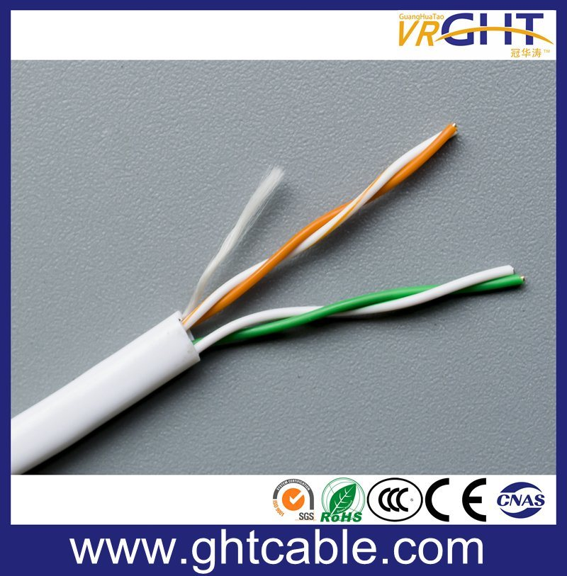 China Twisted Pair of UTP Cat5e for Ethernet/2 Pare Telephone Cable ...