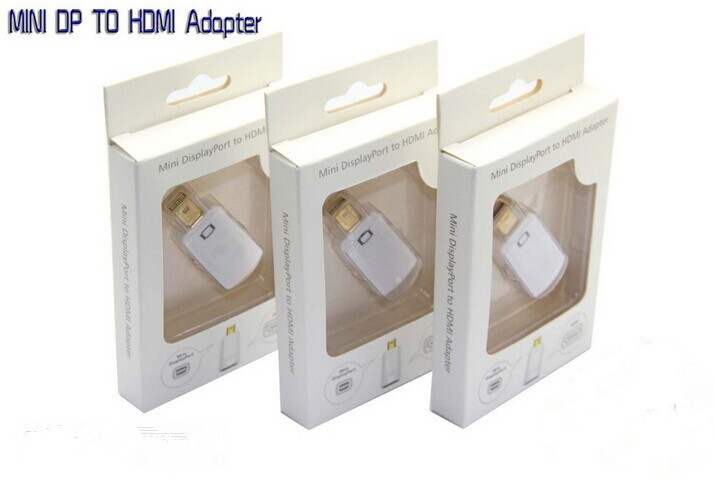 Elandphone Thunderbolt Mini Dp Display Port to HDMI Adapter Cable for MacBook pictures & photos