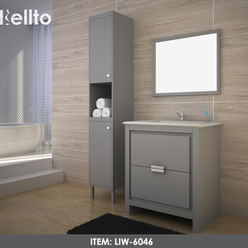 High Quality Customized Contemporary Bathroom Vanity Units Wholesales Desginer Bathroom Cabinets Liw 6046 China Granite Bathroom Vanity Bathroom Cabinet Designs Made In China Com