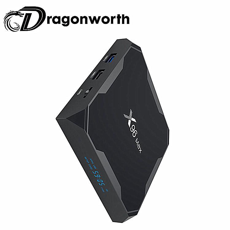 China Dragoonworth 2019 New Products Amlogic S905x2 Bluetooth Dual