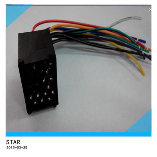 china automotive bmw 17 pin stereo wiring harness