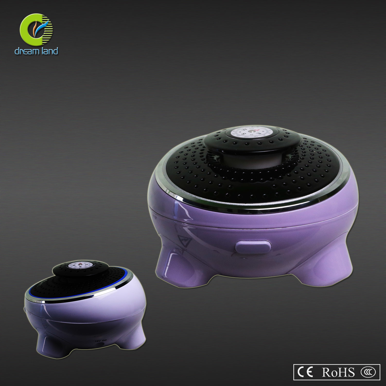 Car Air Purifier with Perfume Chamber