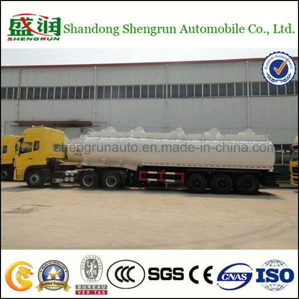 3 Axles China Made 40, 000L Oil Fuel Tanker Trailer pictures & photos