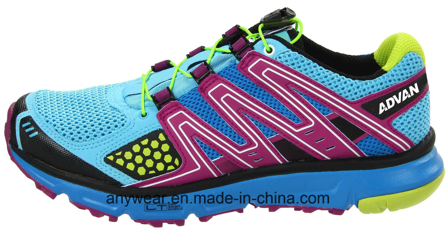 Athletic Women Running Footwear Ladies Gym Sports Shoes (515-7517) pictures & photos