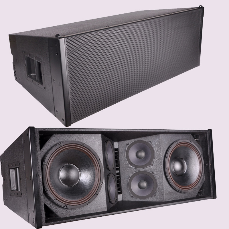 "Dual 12"" Powerful 3 Way Passive Line Array Speaker pictures & photos"
