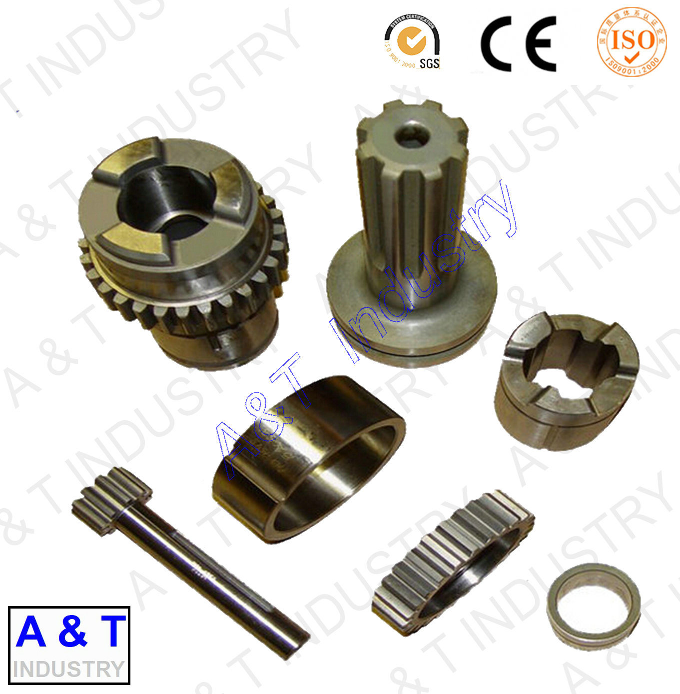 CNC Cusotmized Stainless Steel/Brass Aluminum/Forging Parts Textile Parts pictures & photos
