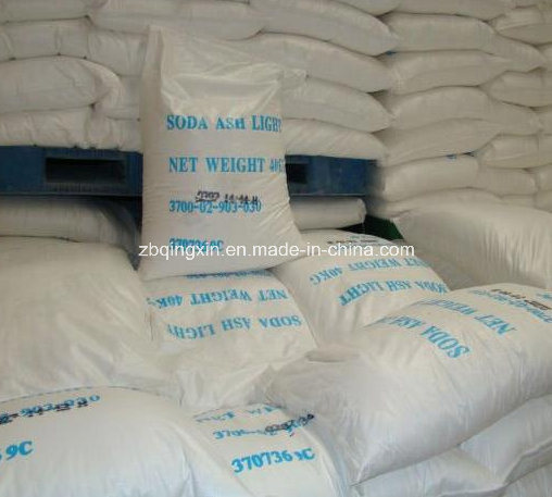 Soda Ash Dense 99.2%Min, Sodium Carbonate Light, for Glass and Textile Industry