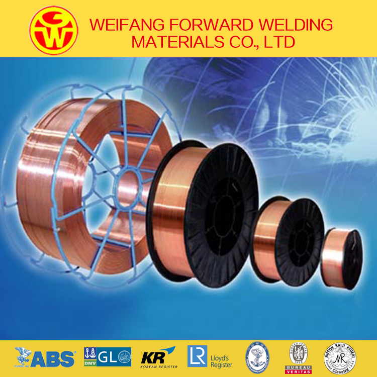 China Aws A5.18 Er70s-6 CO2 Welding Wire/Solid Welding Wire/ Solder ...