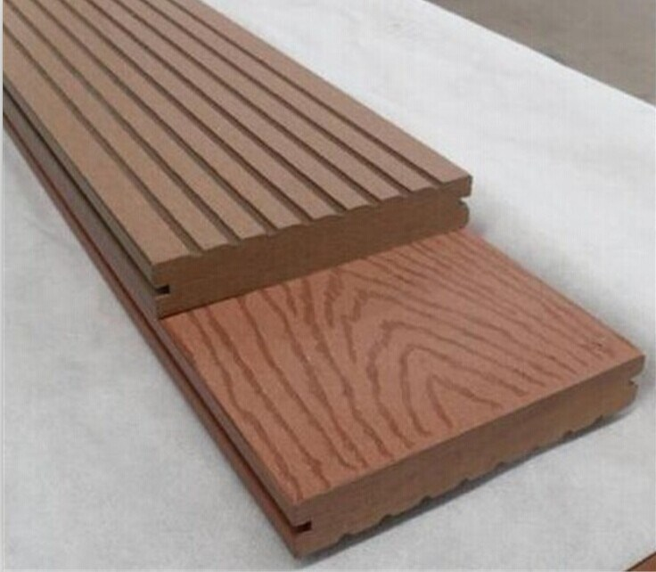 China Pvc Wpc Wood Plastic Flooring Profile Extrusion