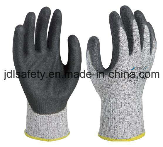 Cut Resistant Safety Work Glove with Nitrile Coated (NDS8048)