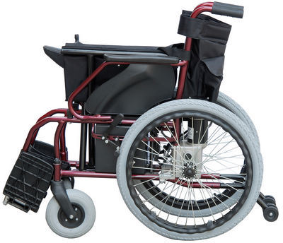 Foldable Power Wheelchair, Big Rear Wheels Electric Wheelchairs : big electric wheelchair - Cheerinfomania.Com