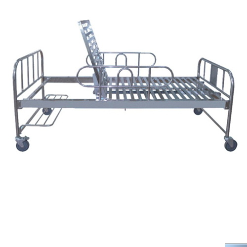 One Crank Adjustable Stainless Steel Invacare Hospital Bed Medical Bed Medical Equipment BS-718 pictures & photos