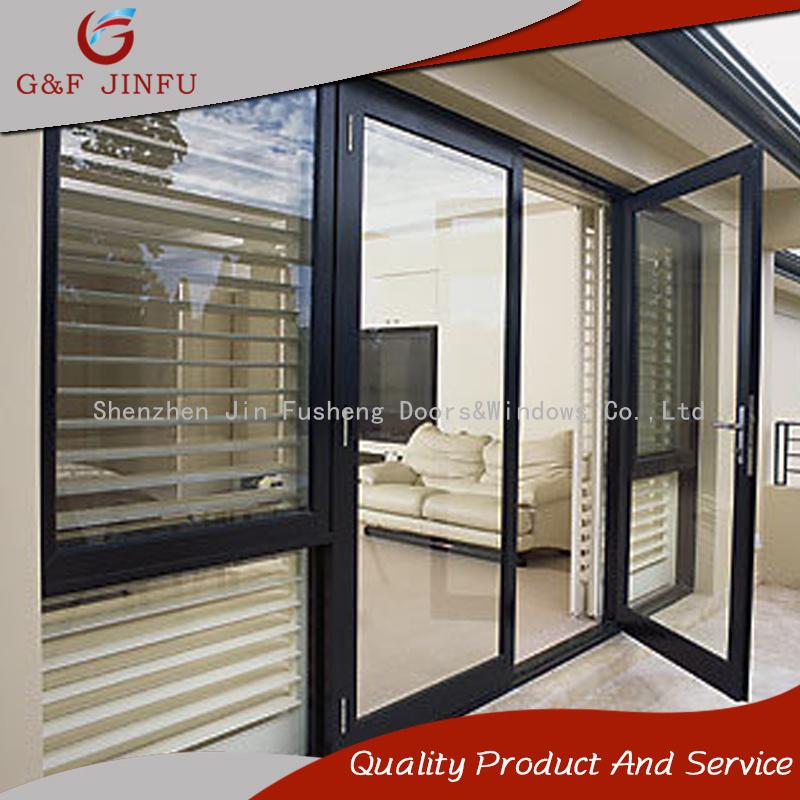 China Aluminium Exteriorinterior Casement Project Door For