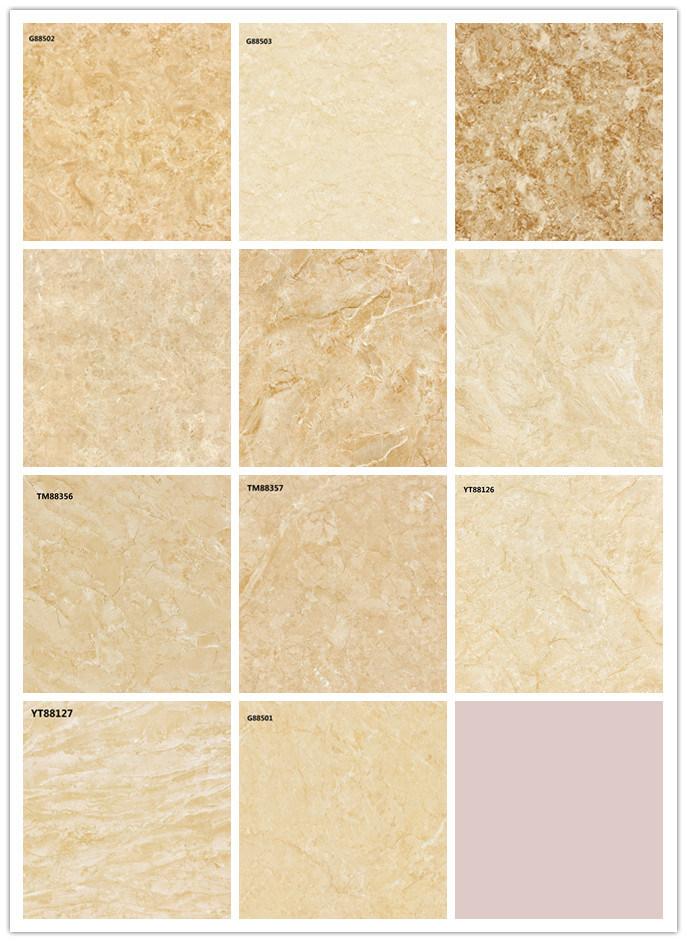 China Foshan Polished Vitrified Porcelain Marble Floor Tiles S88676