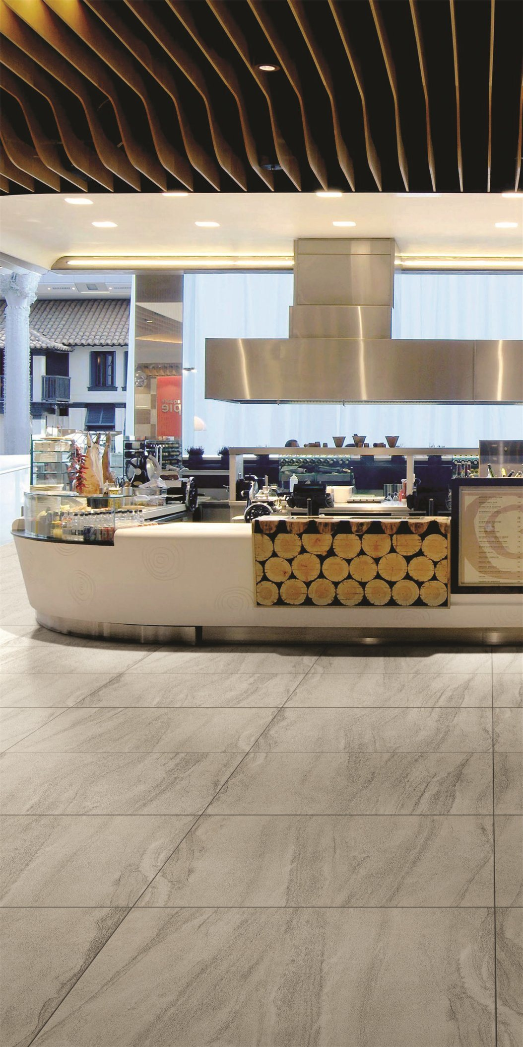 China Rectified Ceramic Tiles With European Design Of Foshan