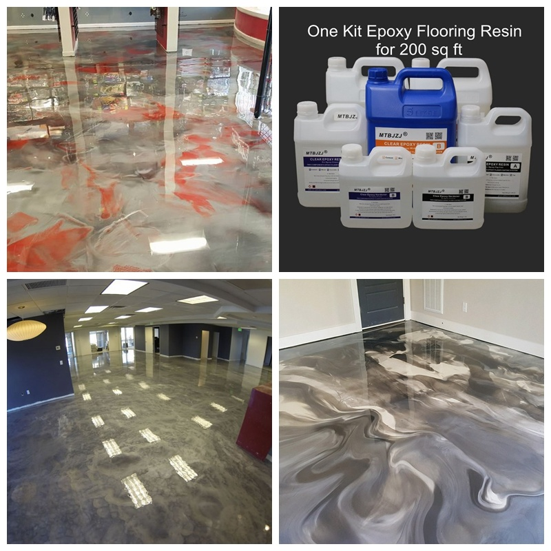 China Metallic Epoxy Flooring