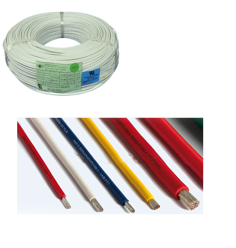 China High Temp. Silicone Rubber Insulated High Voltage Wire Photos ...