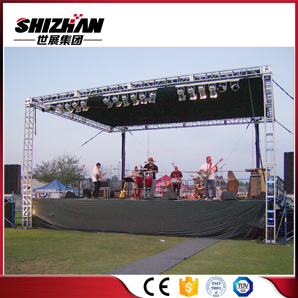 diy portable stage small stage lighting truss. Aluminum Truss Stage Podium, Lighting Truss, Event System Diy Portable Small