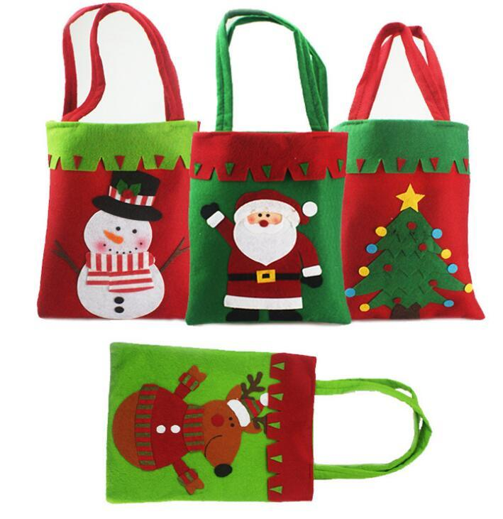 OEM Christmas Felt Candy Shopping Bag for Promotional Gift pictures & photos