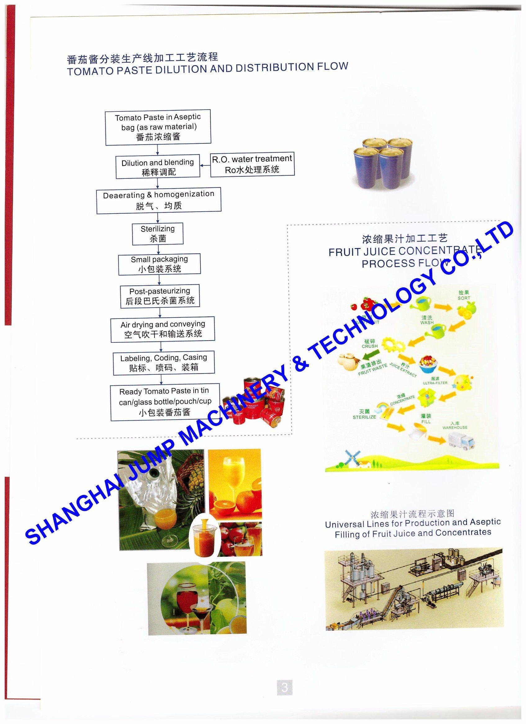 China Tinplate Package Tomato Ketchup Making Machine - China Tomato Ketchup  Making Machine, Tomato Ketchup Making Equipment