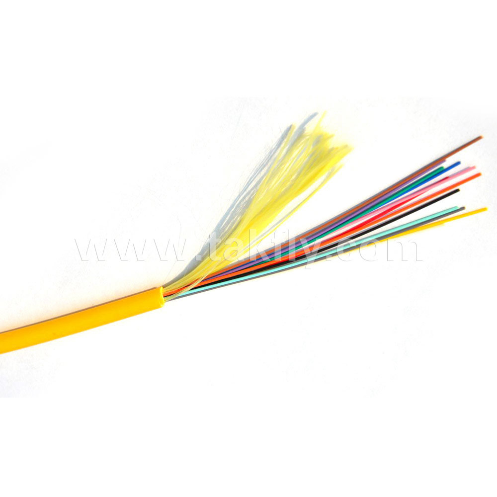 12 Core Distribution Loose Tube Indoor Optical Fiber Cable LSZH pictures & photos