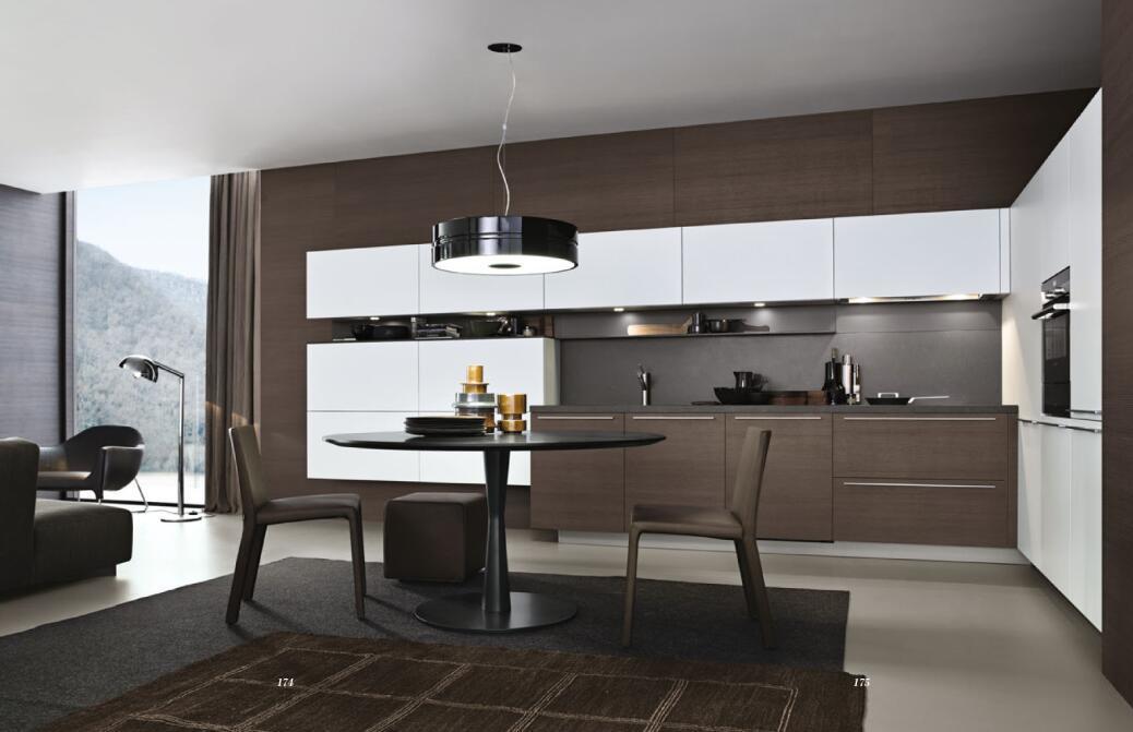 [Hot Item] Guangzhou Canton Fair Custom Modern Laminate Open Kitchen  Designs Models