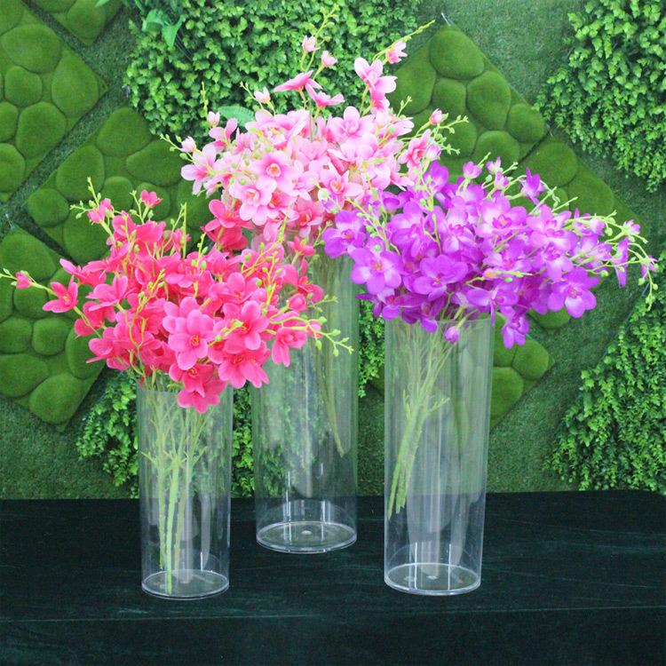 China New House Decoration Acrylic Flower Vase Photos Pictures