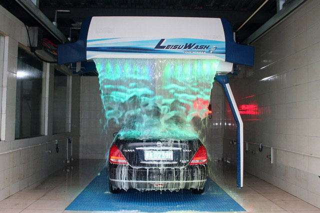 China Ls-360 Leisu Ce Approved Touchless Car Wash Machines Systems - China Touchless  Car Wash, Car Wash Machines