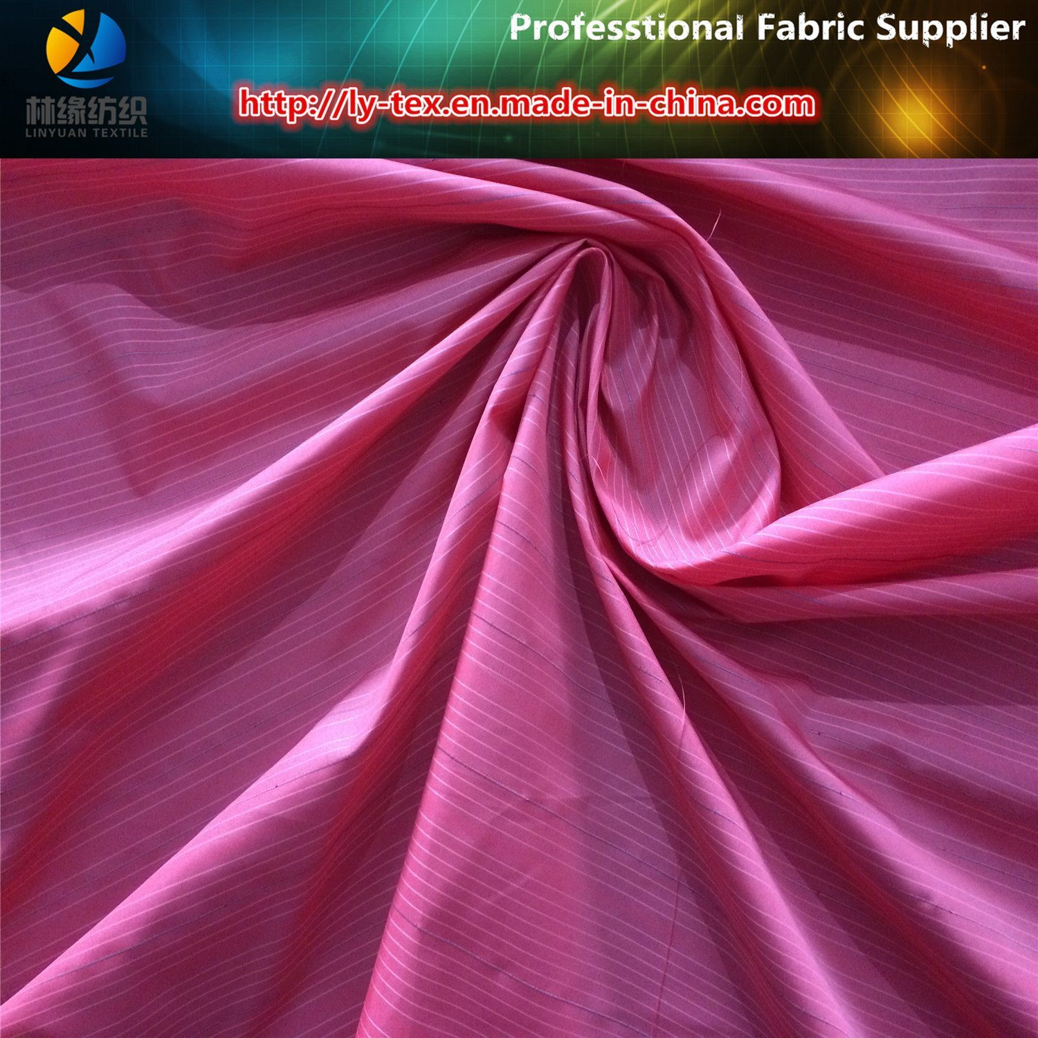 Polyester Yarn Dyed Reflective Ripstop Fabric for Safety Vest (YD1010) pictures & photos