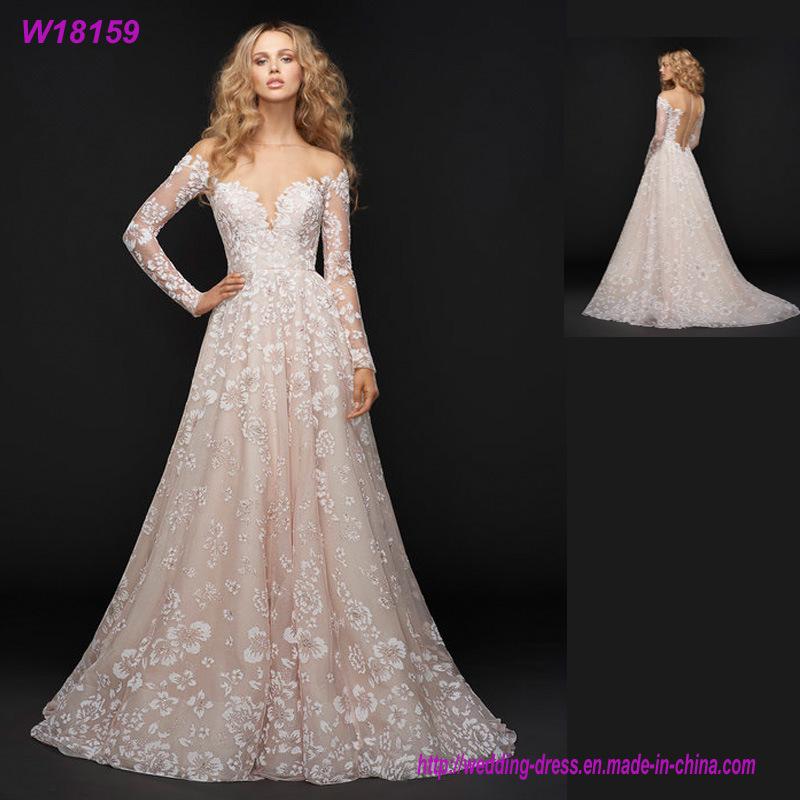Long Sleeves Wedding Dresses - Xiamen Shanny Dress Industrial Co ...