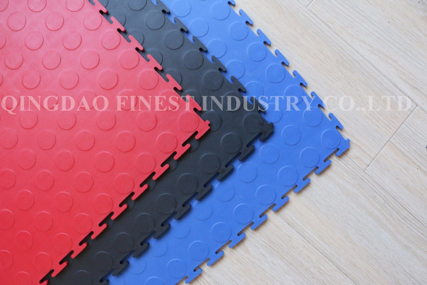 China stably high quality interlocking garage floor rubber puzzle