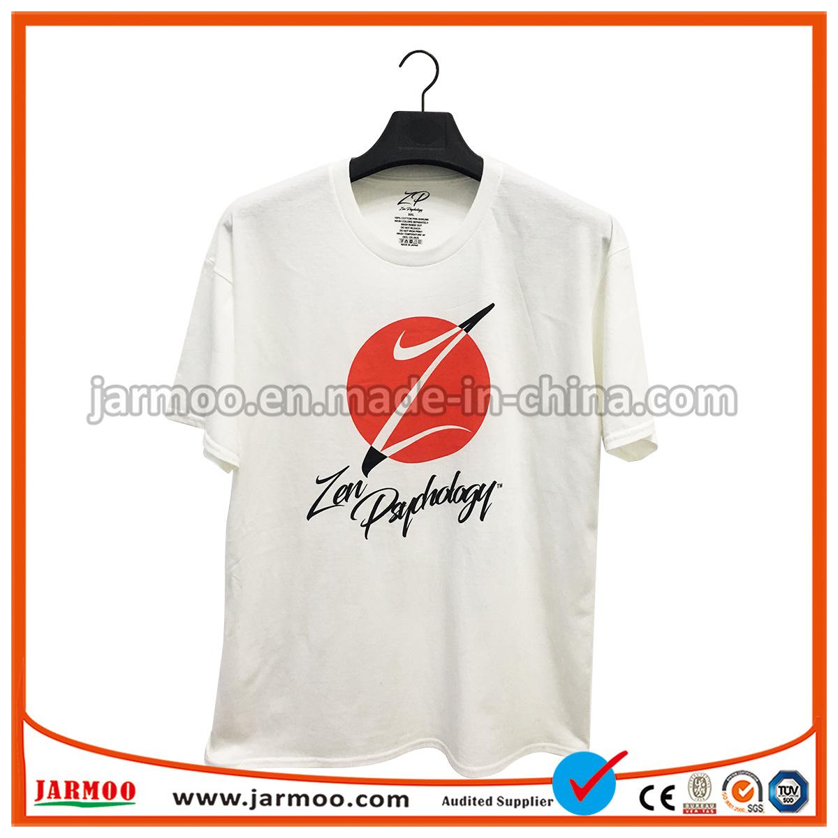 China Hot Selling Custom Cotton Shirt Clothing Printing Short Sleeve