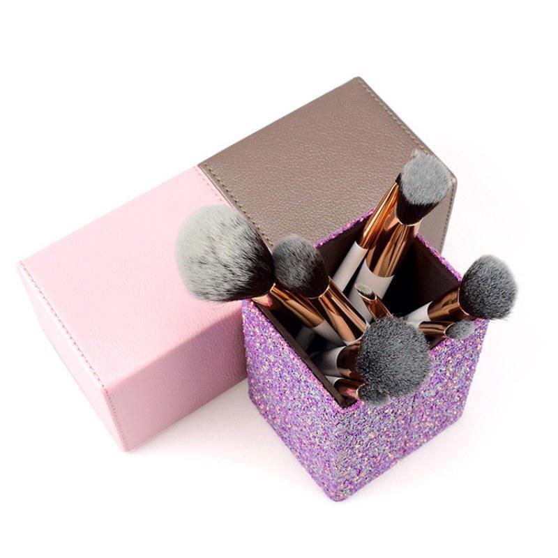 [Hot Item] Makeup Brush Holder Box Tube Barrel Storage Bucket Cosmetic  Brush Storage