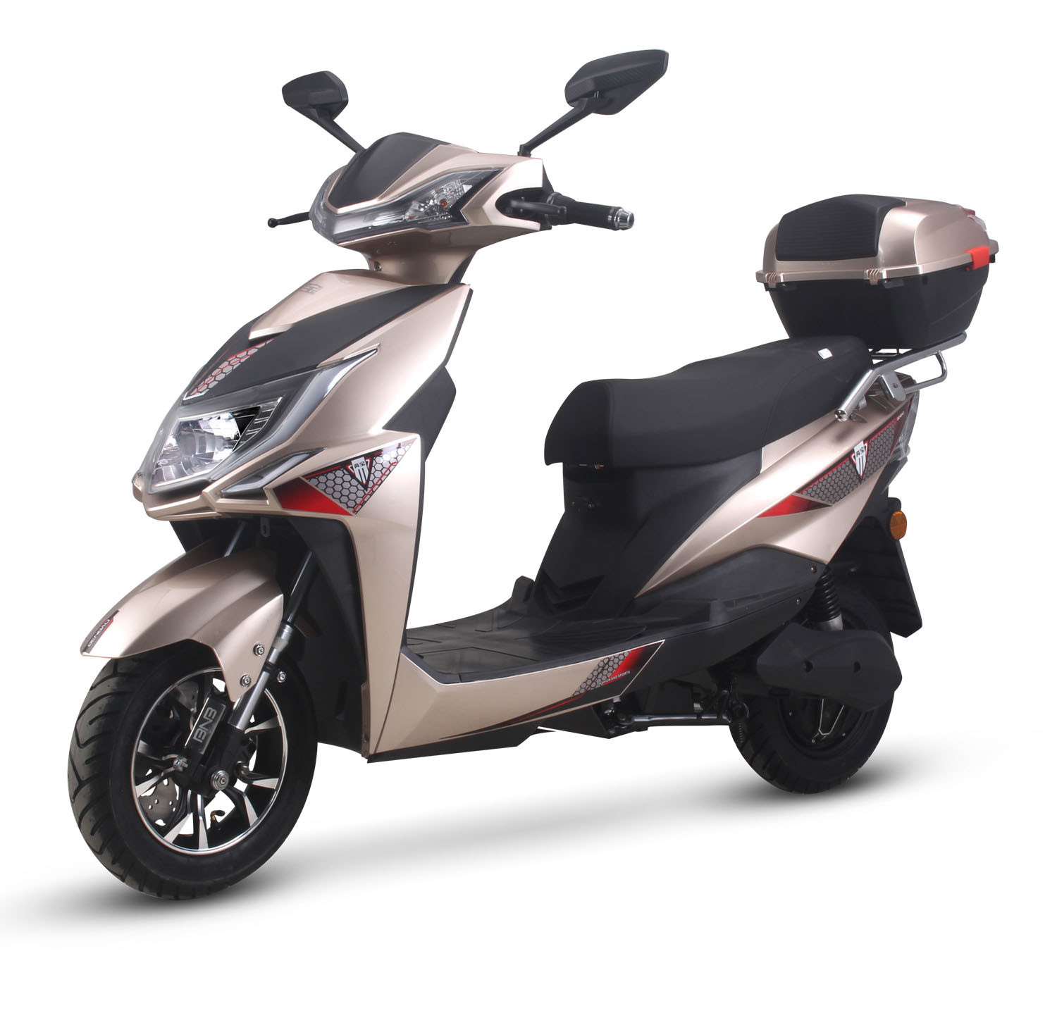China War Wolf Electric Scooter Electric Motorcycle 1200W